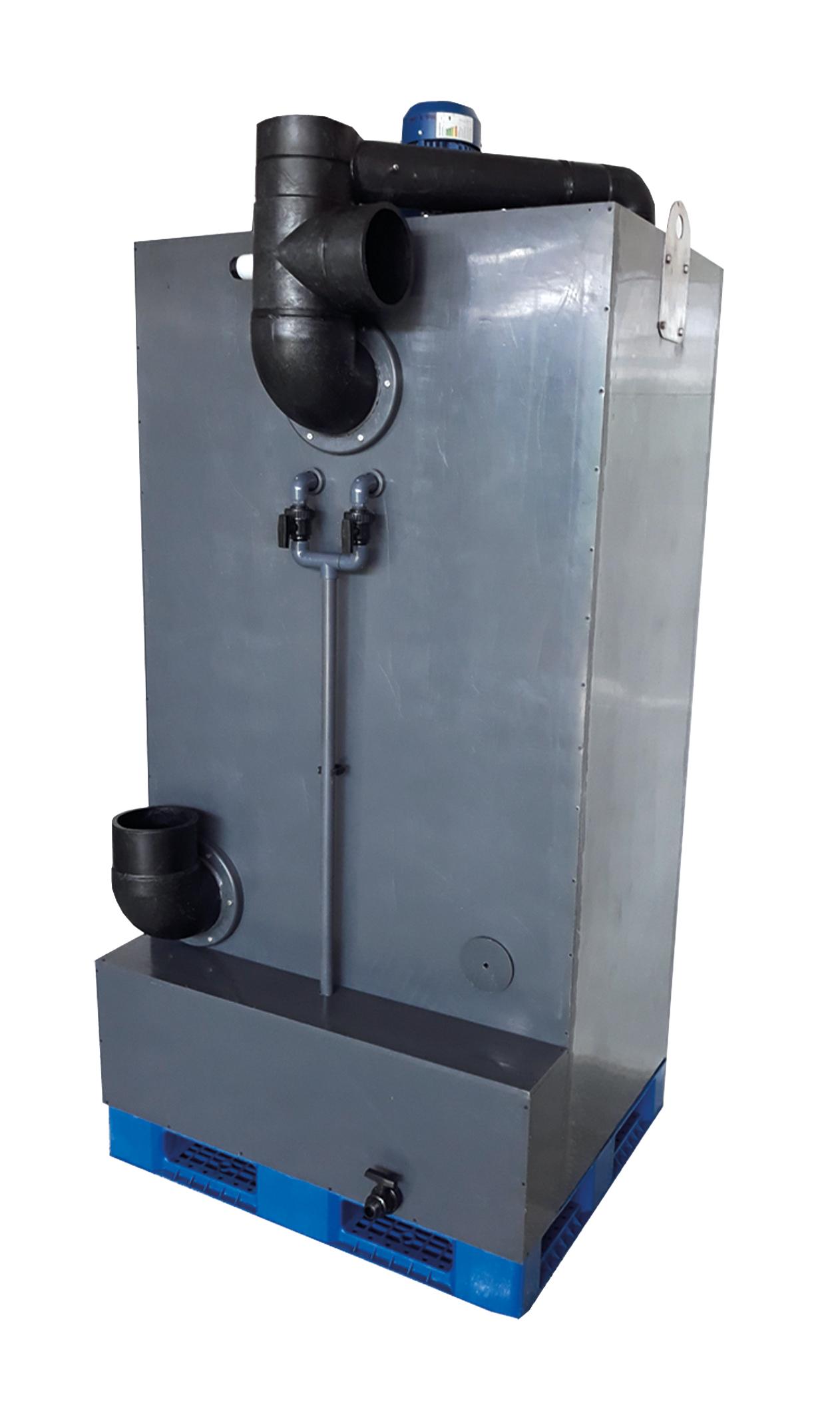 دستگاه تصفیه بخار اسید NS70